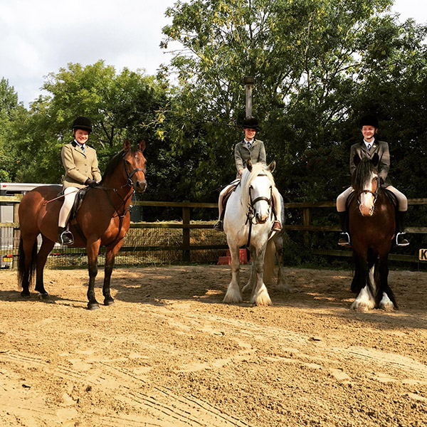 Picture of horse riders